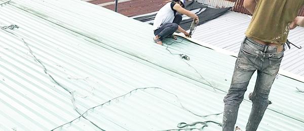công ty sửa mái tôn ở Bình Dương